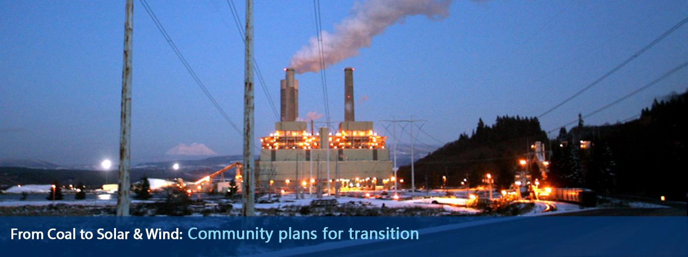 TransAlta Coal Plant in Centralia