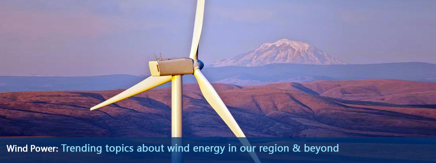 Wind Turbine at Wild Horse Wind & Solar Facility