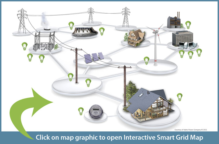 Click for interactive smart grid map